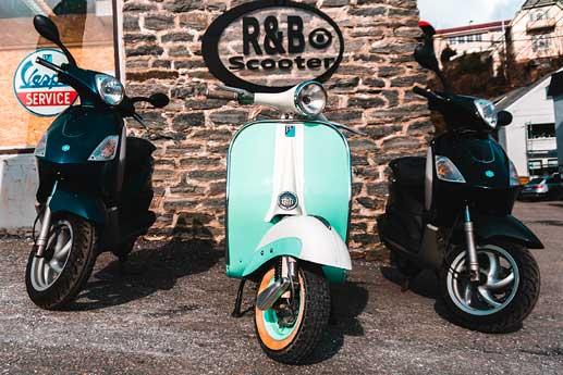 r&b-scooter-utleie
